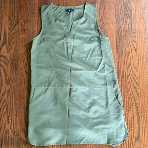 GAP Olive green shift dress
